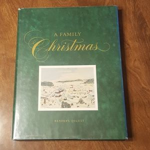 1984 A FAMILY CHRISTMAS READERS DIGEST HARDCOVER